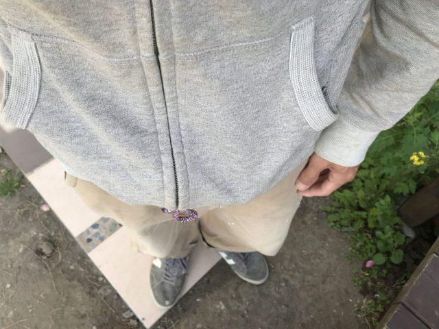 タケノコ堀りの服装