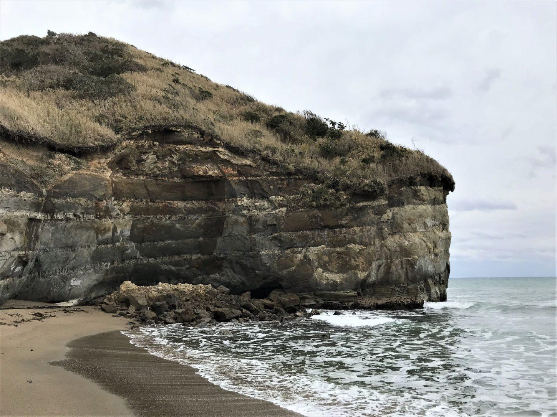 「御宿町岩和田 崖」の画像検索結果
