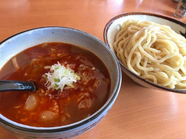 大輪の勝浦タンタンつけ麺