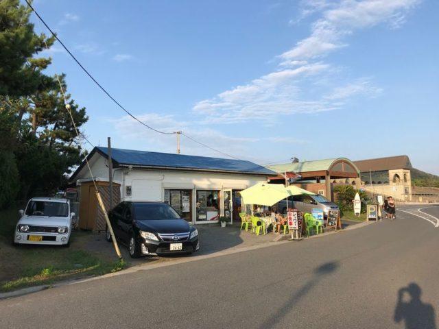 御宿中央海水浴場の駐車場
