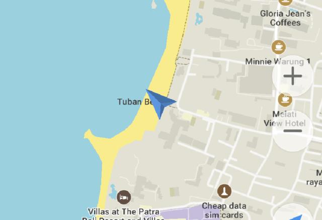バリ島のサーフィン、クタリーフ