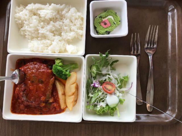 航空科学博物館のレストラン