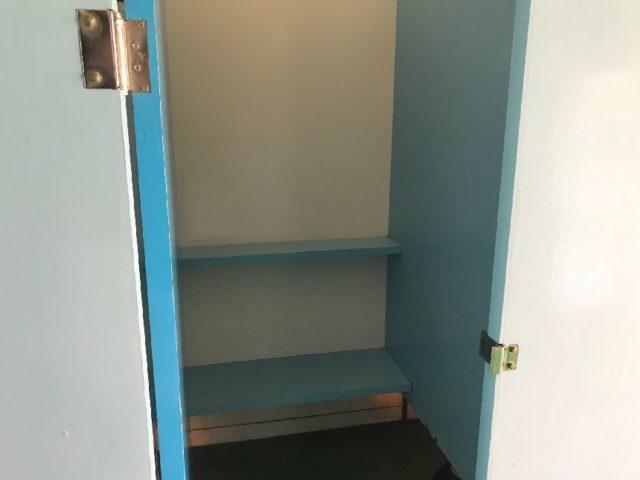 蓮沼ウォーターガーデンの更衣室