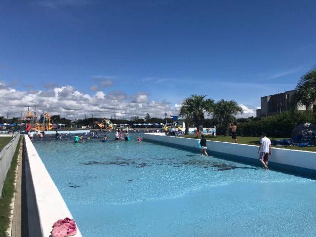 蓮沼ウォーターガーデンのプール