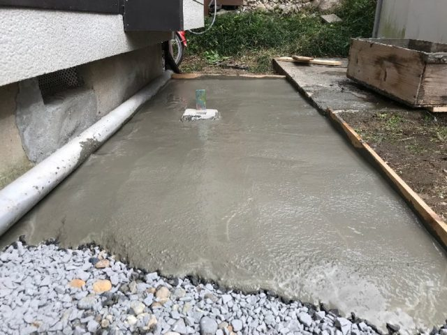 コンクリート土間打ち