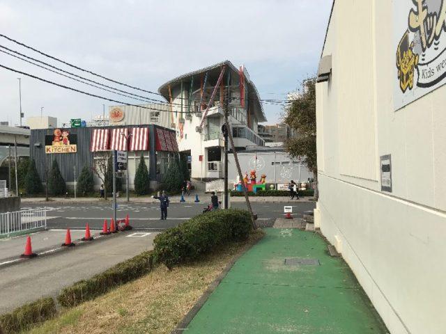 横浜アンパンマンミュージアム駐車場