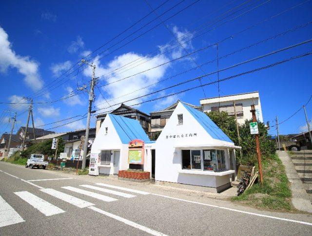 岩和田海水浴場のシャワー