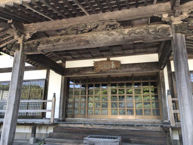 養老渓谷の水月寺