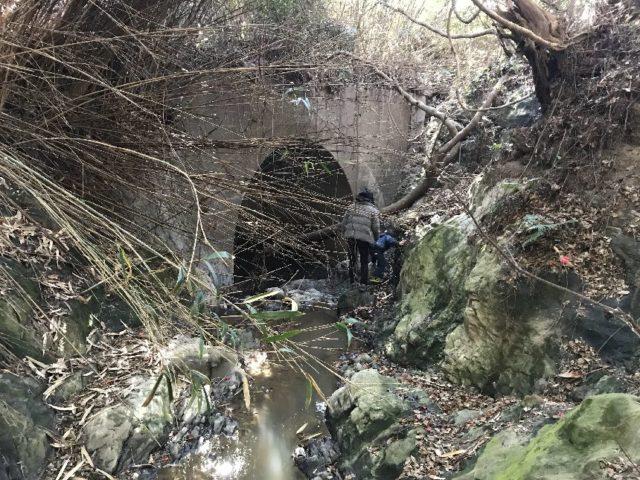波切不動の滝