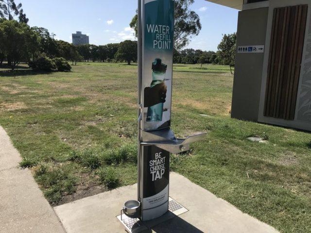 オーストラリアの給水ポイント