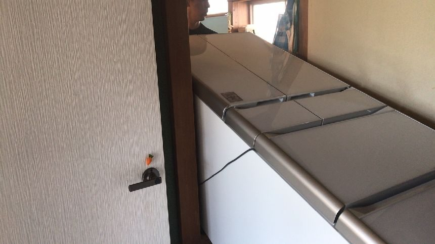 冷蔵庫の幅