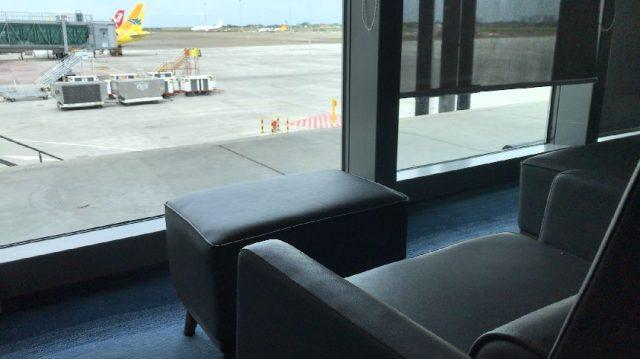 セブ島の空港ラウンジ