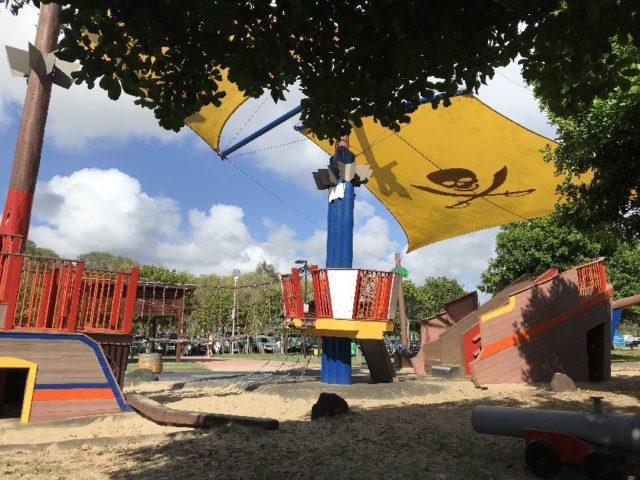 Palm Beach Pirate Treasure Island Playground